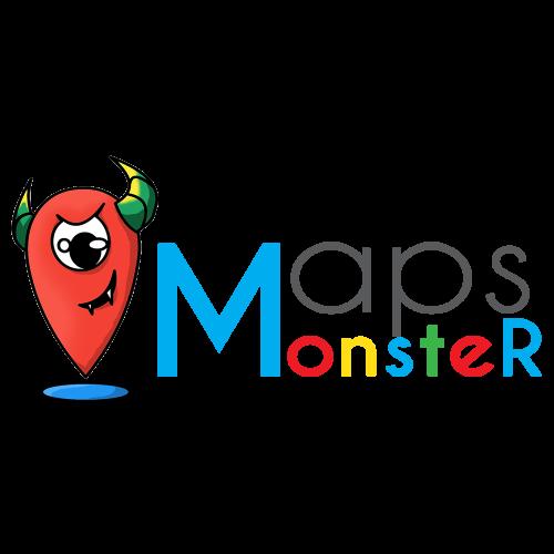 Google Maps Maker - mapsmonster logo
